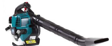 Бензиновая воздуходувка Makita bhx2501: обзор, рекомендации по выбору