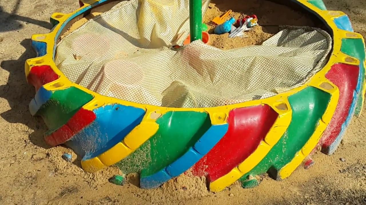 Детская песочница 8
