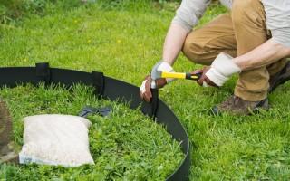 Характеристика, правила установки и критерии выбора бордюрной ленты для грядок