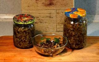 Рецепт вкусной грибной икры из вешенки