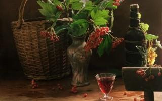Как приготовить вино из калины в домашних условиях
