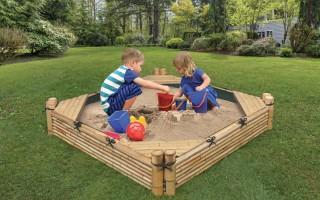 7 идей детских песочниц, которые легко повторить на своем участке