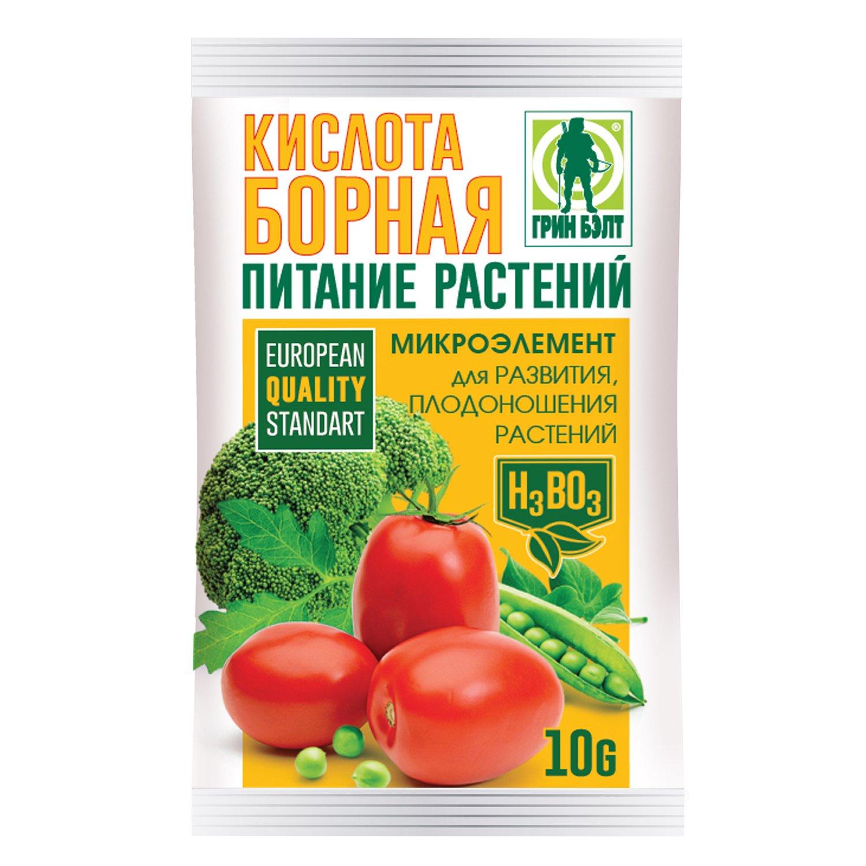 Борная кислота для помидоров