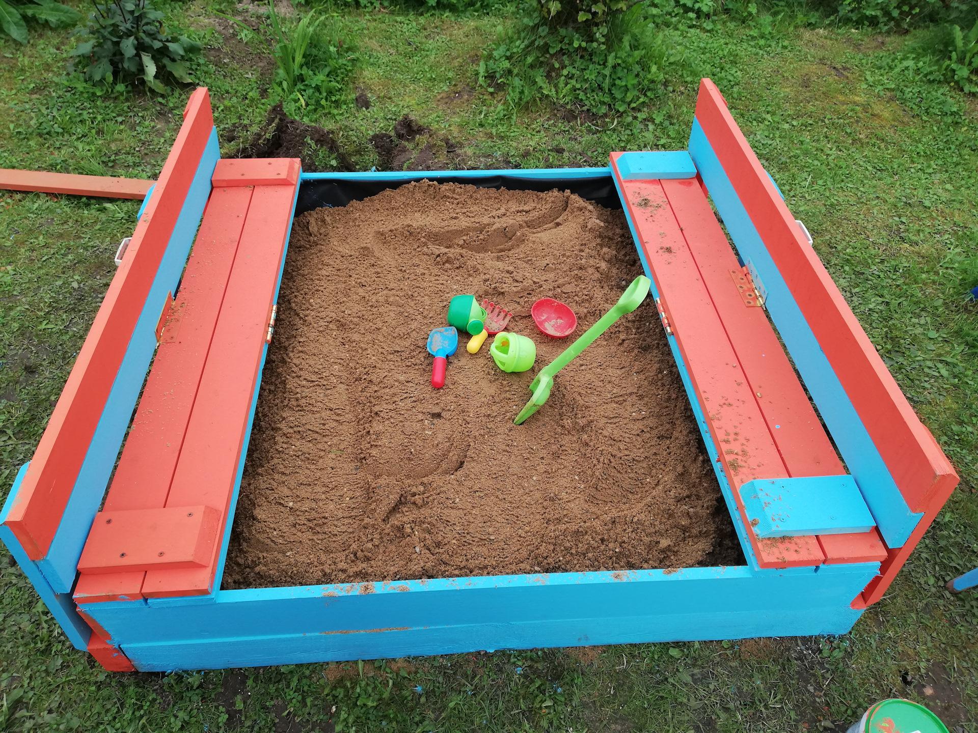 детская песочница 2